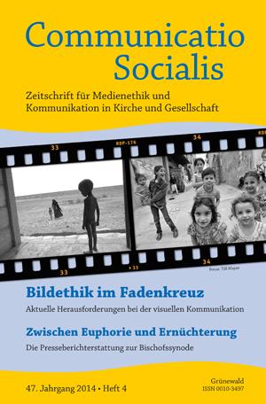 """Neue Ausgabe zum Thema: """"Bildethik im Fadenkreuz"""""""