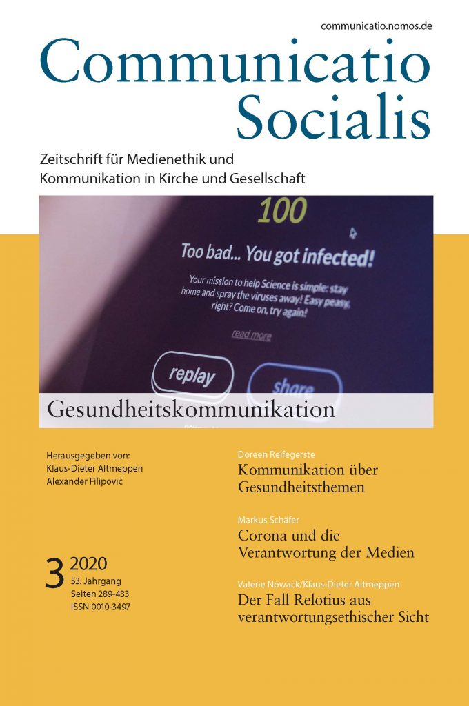 Cover ComSoc 3/2020